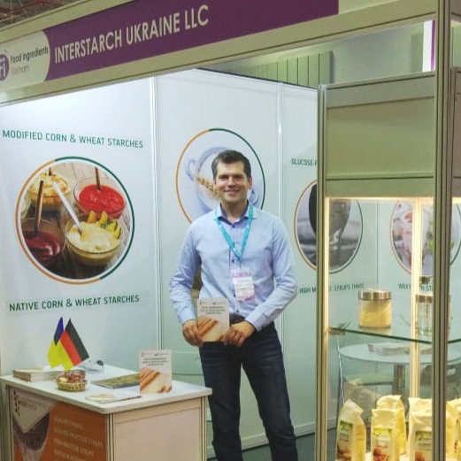 Компания Интерстарч Украина приняла участие в выставке Food Ingredients Vietnam 2018